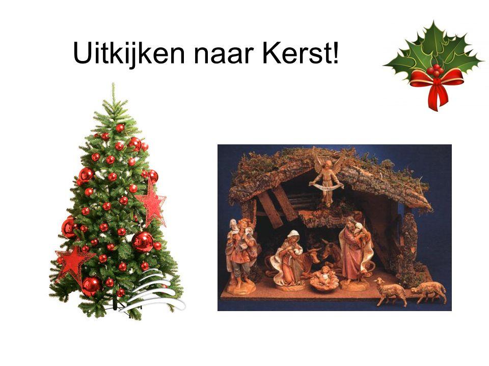 Uitkijken naar Kerst!