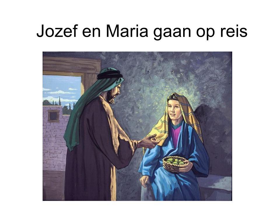 Jozef en Maria gaan op reis
