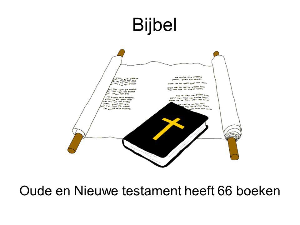 Oude en Nieuwe testament heeft 66 boeken