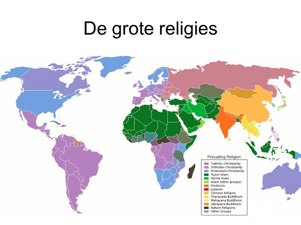 De grote religies