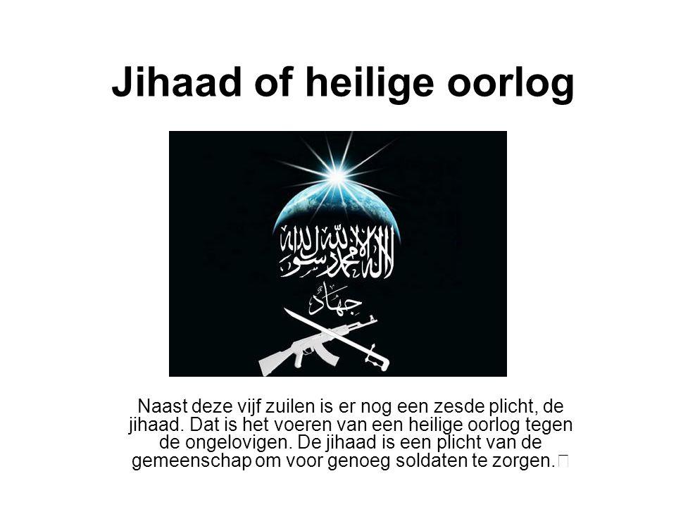 Jihaad of heilige oorlog