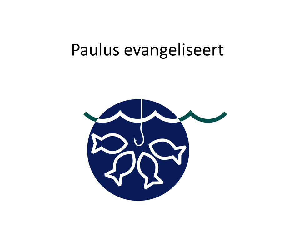 Paulus evangeliseert
