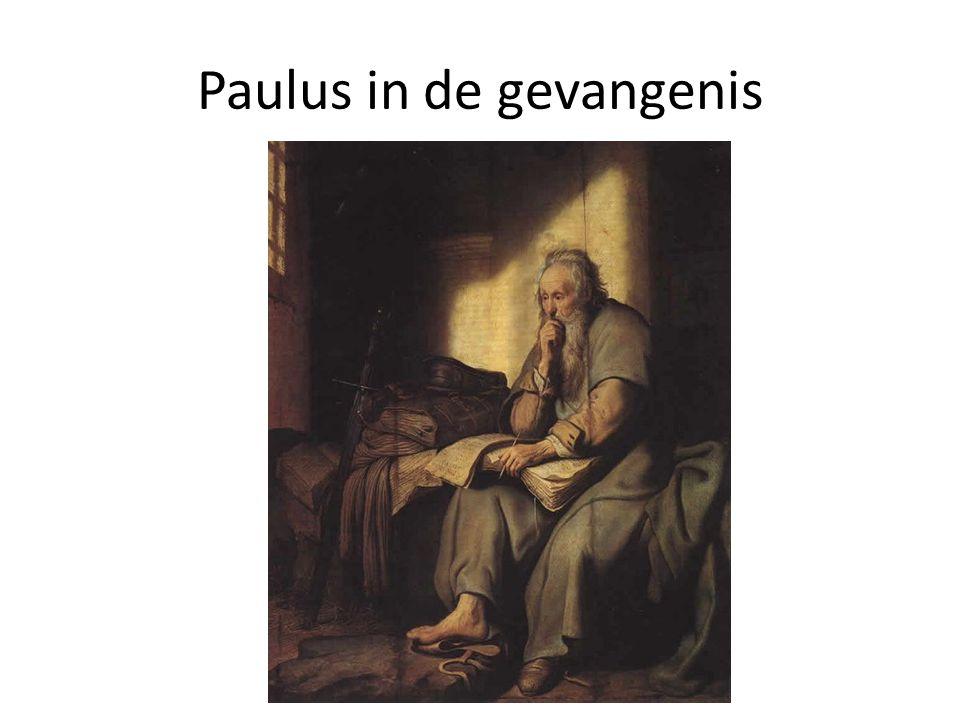 Paulus in de gevangenis