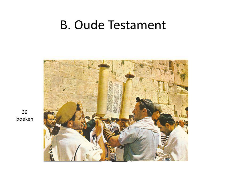 B. Oude Testament 39 boeken 18