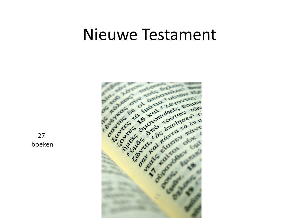Nieuwe Testament 27 boeken 19