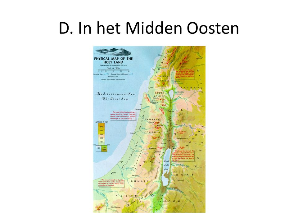 D. In het Midden Oosten