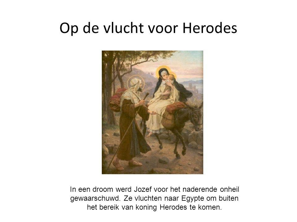 Op de vlucht voor Herodes