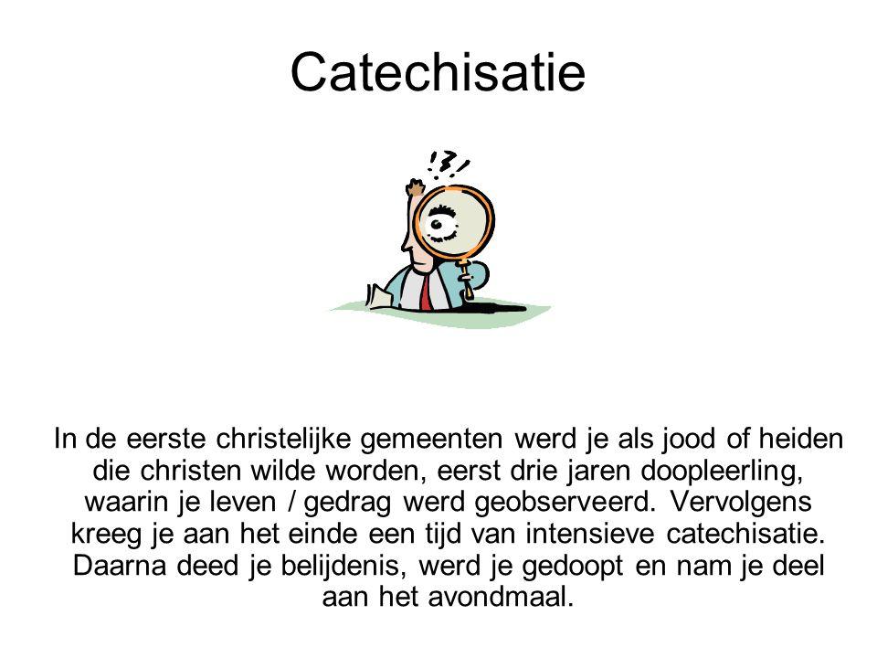 Catechisatie