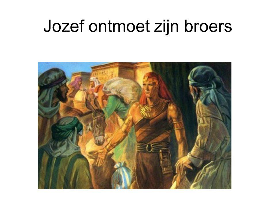 Jozef ontmoet zijn broers