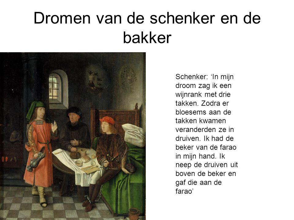 Dromen van de schenker en de bakker