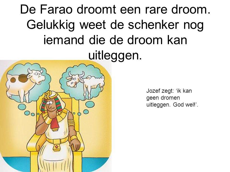 De Farao droomt een rare droom