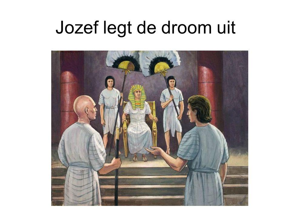Jozef legt de droom uit