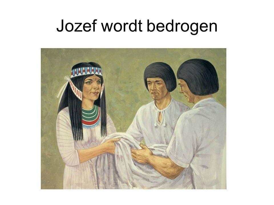 Jozef wordt bedrogen