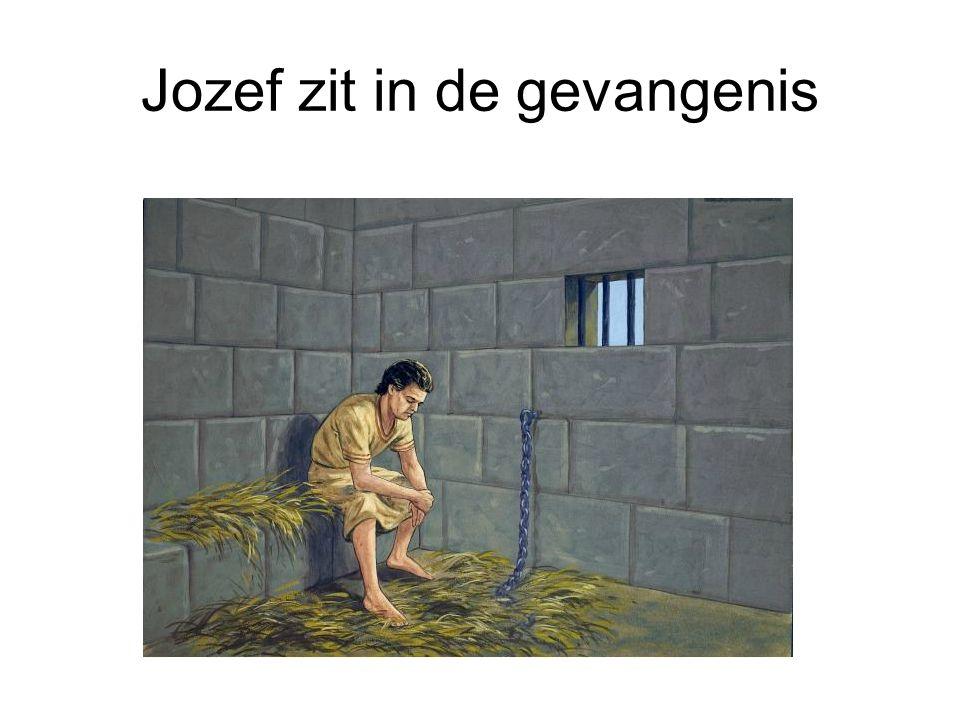 Jozef zit in de gevangenis