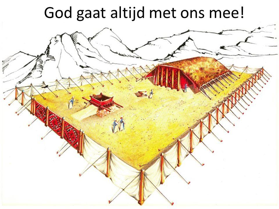 God gaat altijd met ons mee!