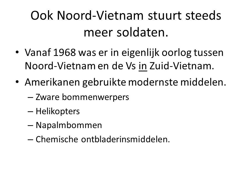 Ook Noord-Vietnam stuurt steeds meer soldaten.