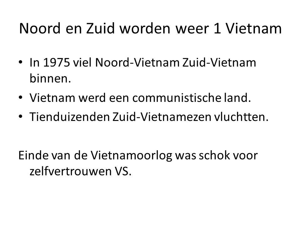 Noord en Zuid worden weer 1 Vietnam
