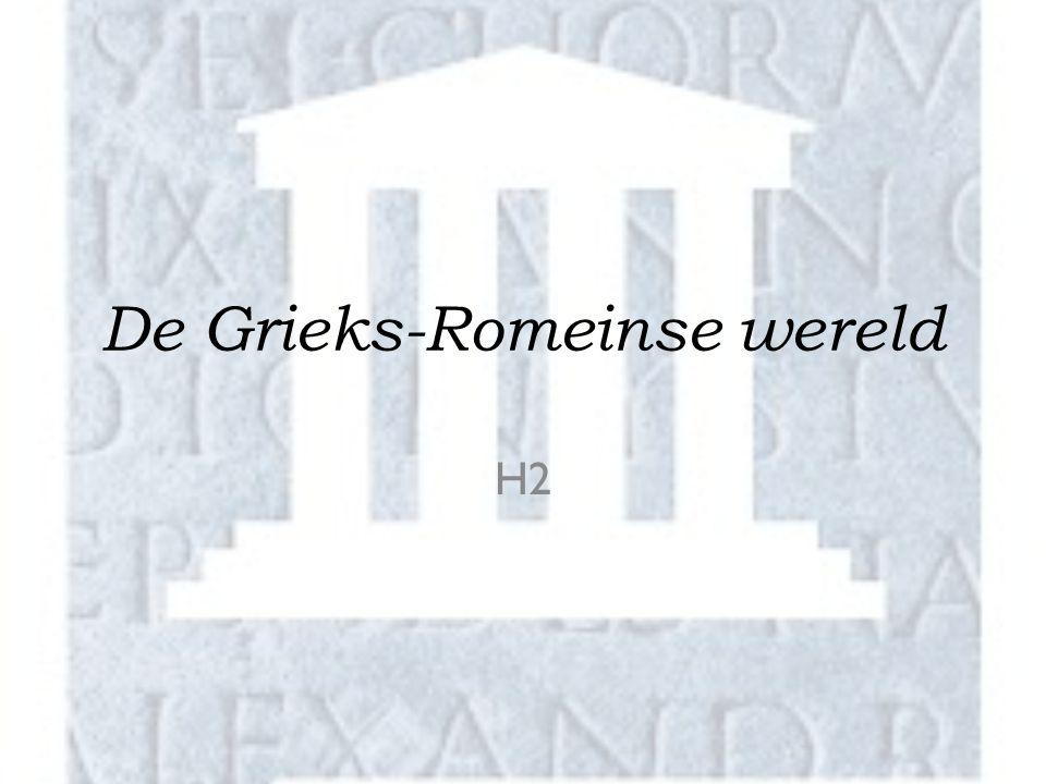 De Grieks-Romeinse wereld