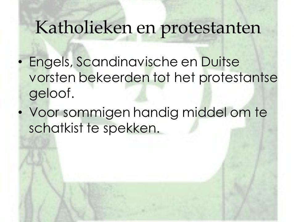 Katholieken en protestanten