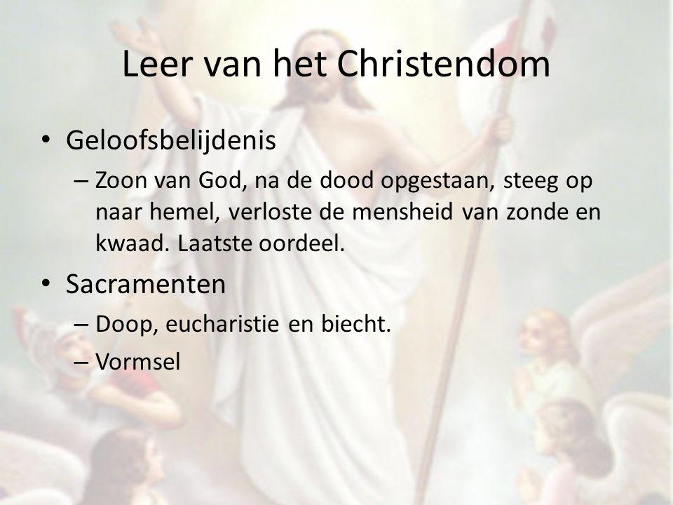 Leer van het Christendom