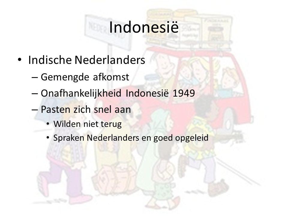 Indonesië Indische Nederlanders Gemengde afkomst