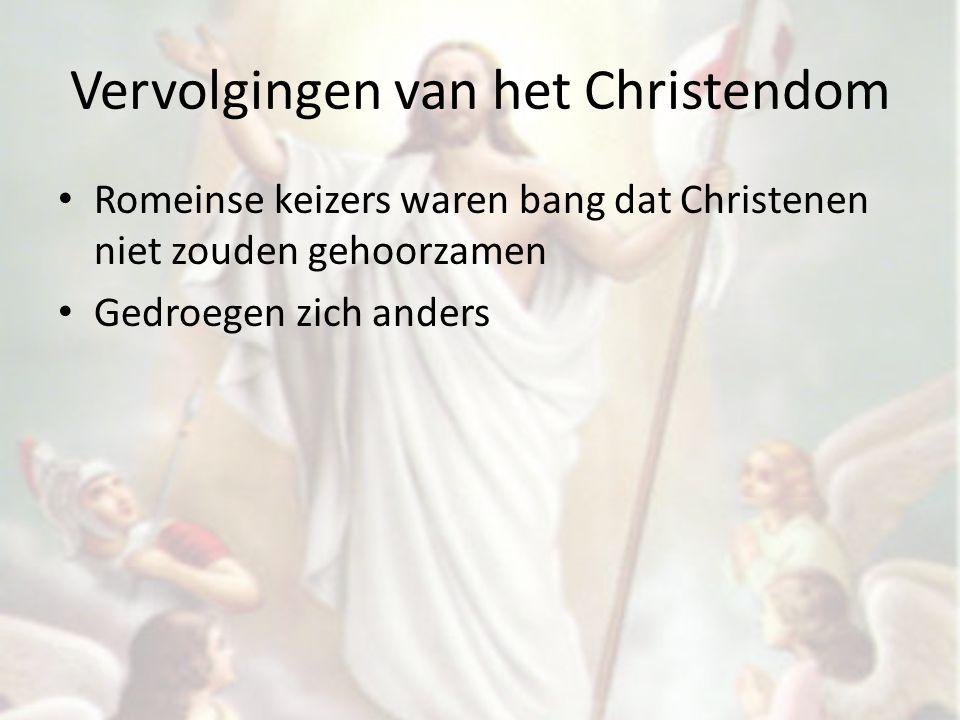 Vervolgingen van het Christendom