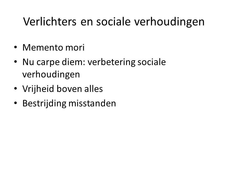 Verlichters en sociale verhoudingen