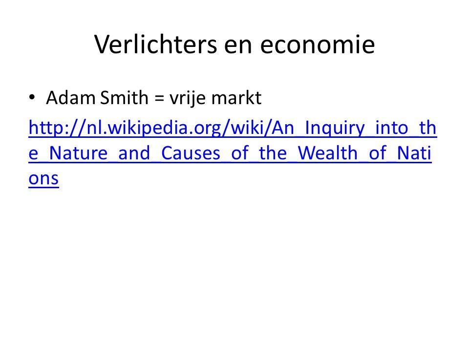 Verlichters en economie