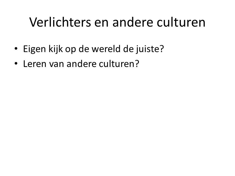 Verlichters en andere culturen