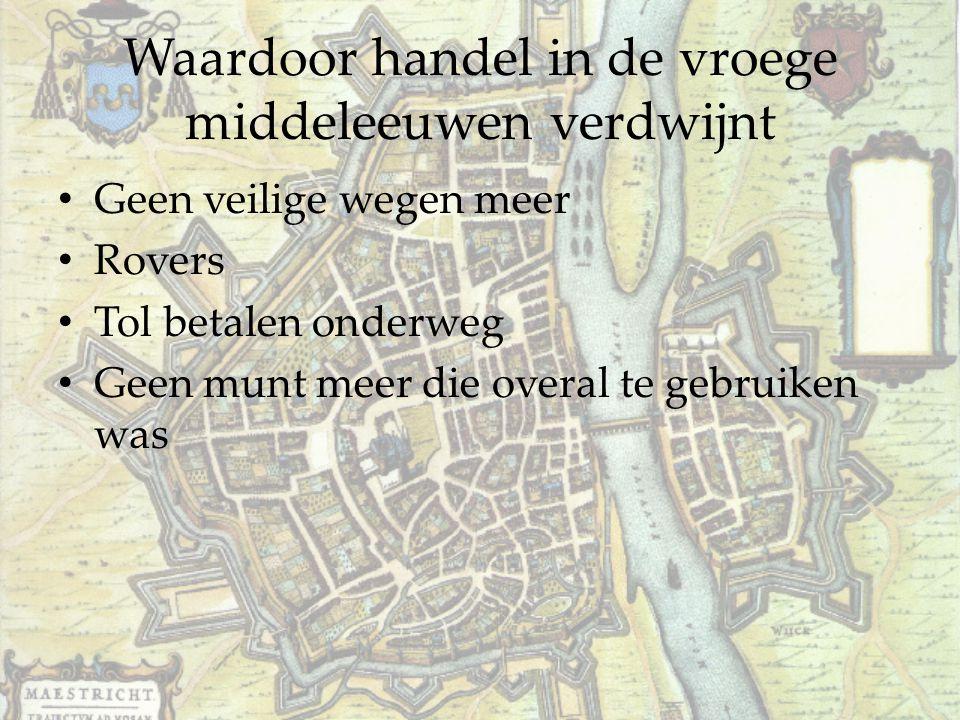 Waardoor handel in de vroege middeleeuwen verdwijnt