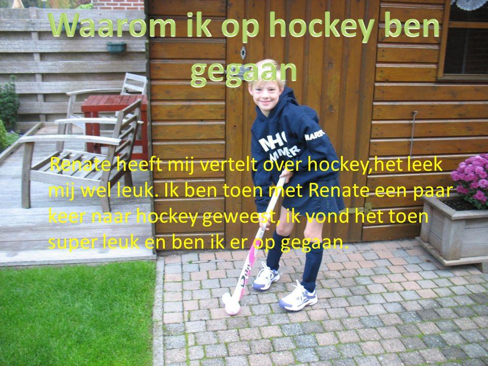 Waarom ik op hockey ben gegaan