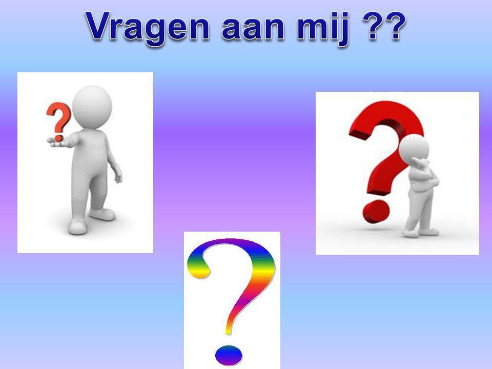 Vragen aan mij