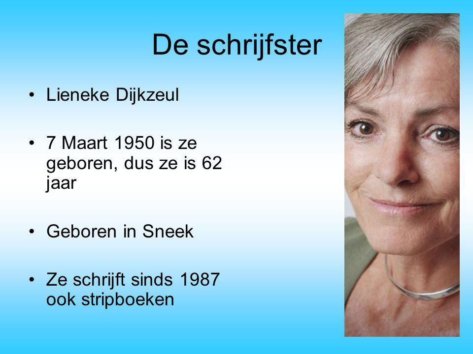 De schrijfster Lieneke Dijkzeul