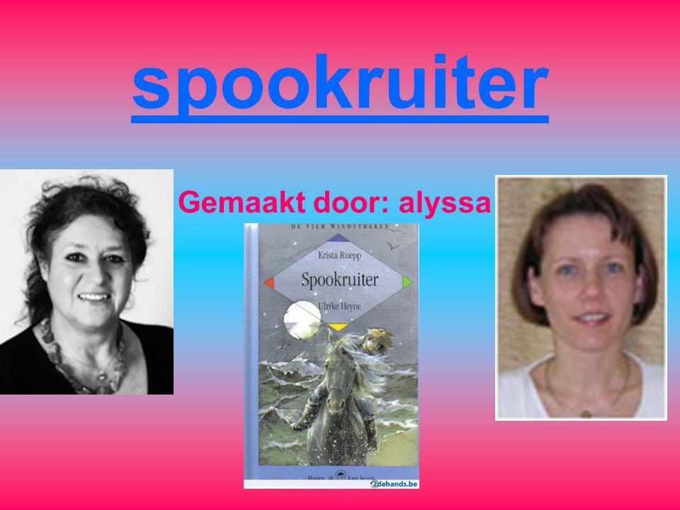 spookruiter Gemaakt door: alyssa