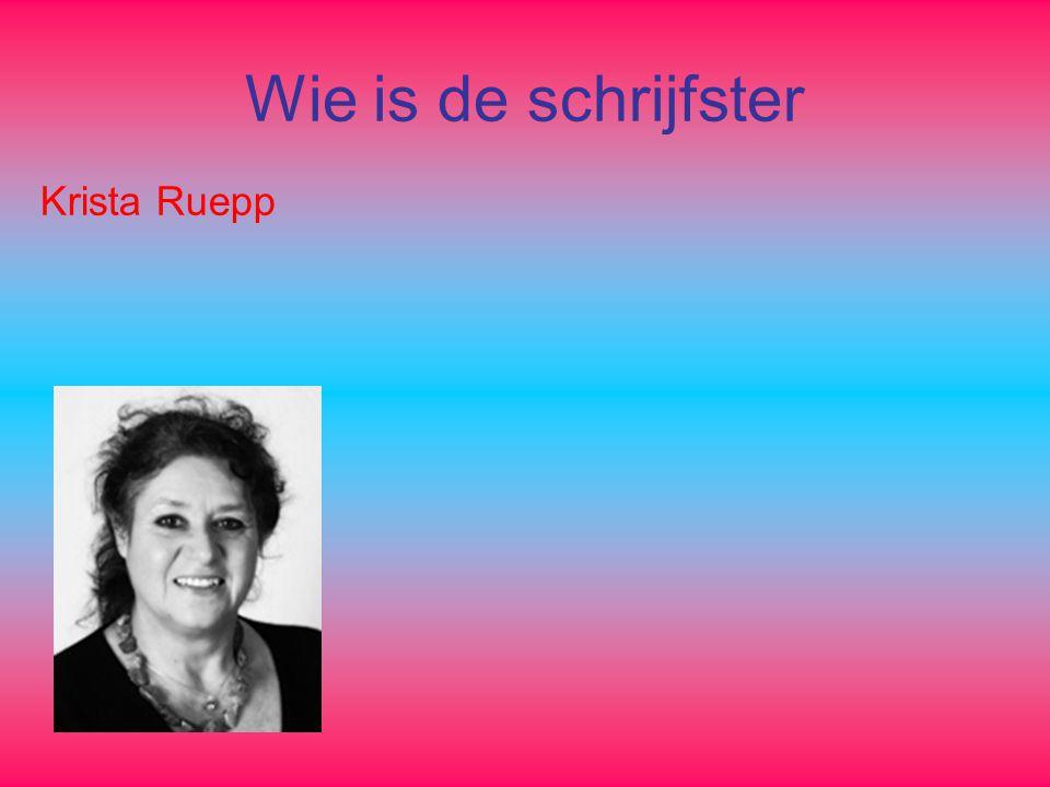 Wie is de schrijfster Krista Ruepp