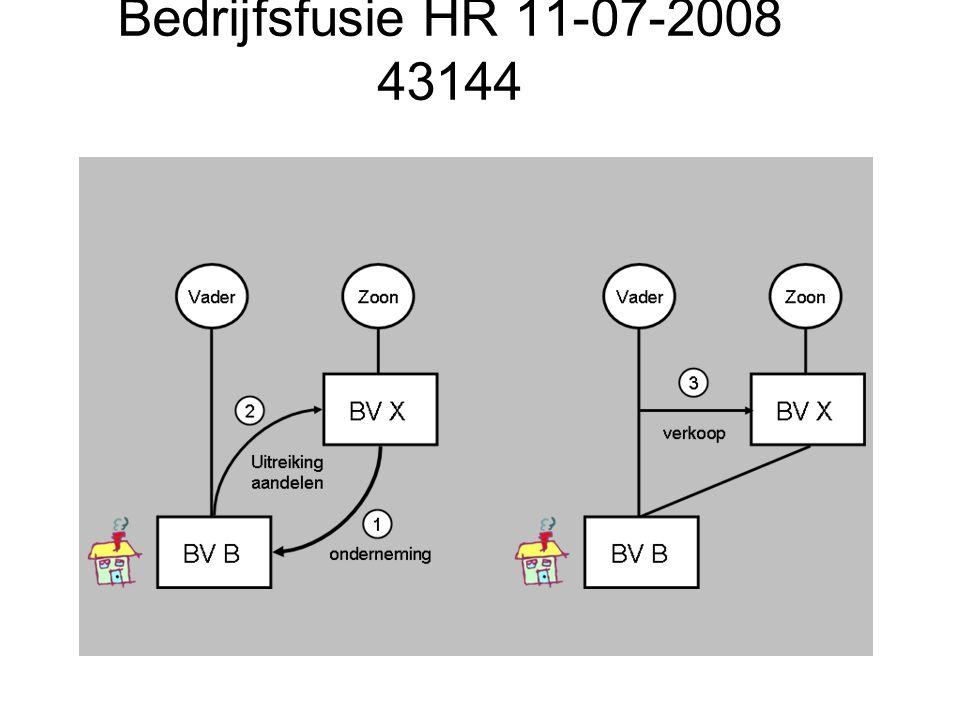 Bedrijfsfusie HR 11-07-2008 43144