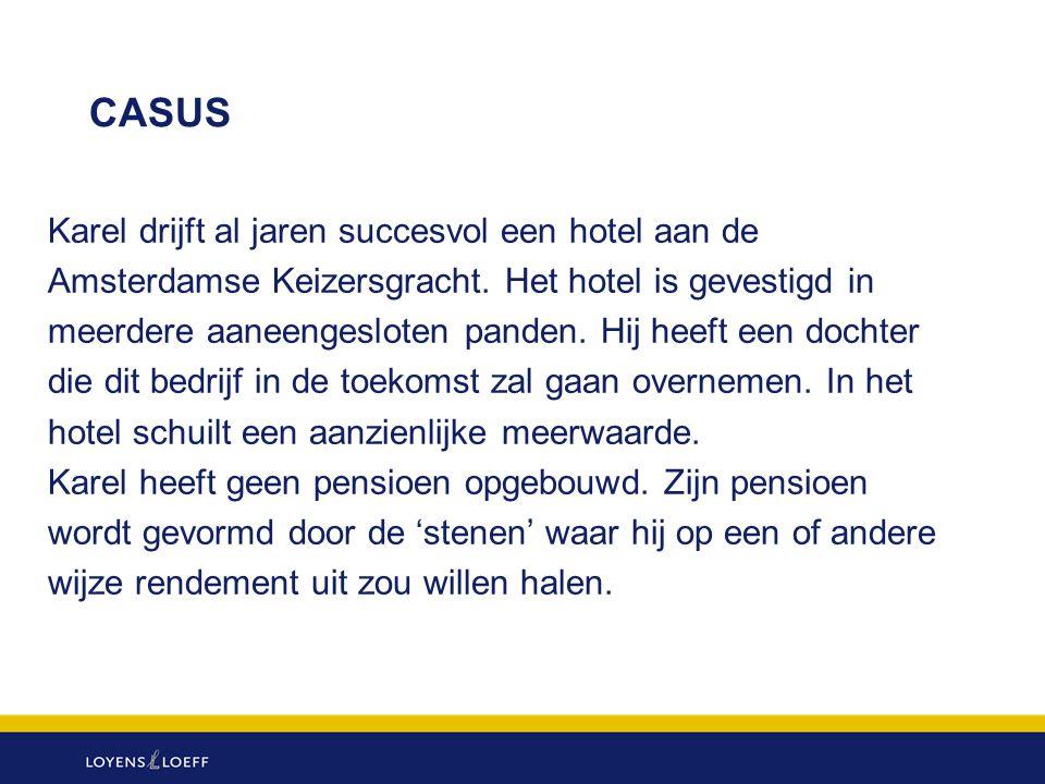 CASUS Karel drijft al jaren succesvol een hotel aan de