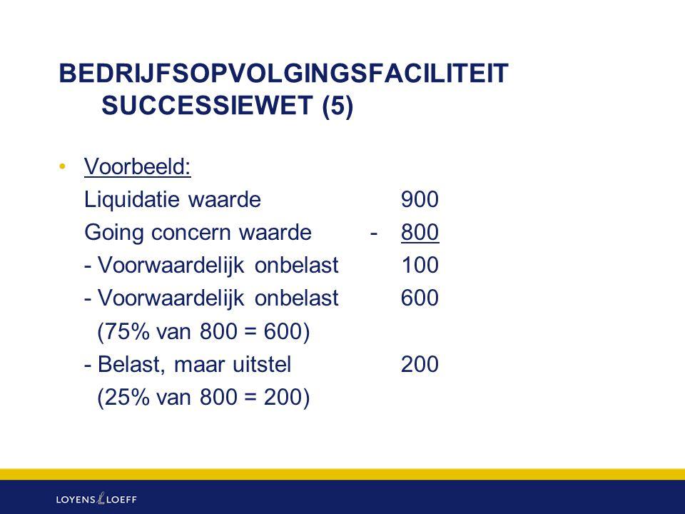 BEDRIJFSOPVOLGINGSFACILITEIT SUCCESSIEWET (5)