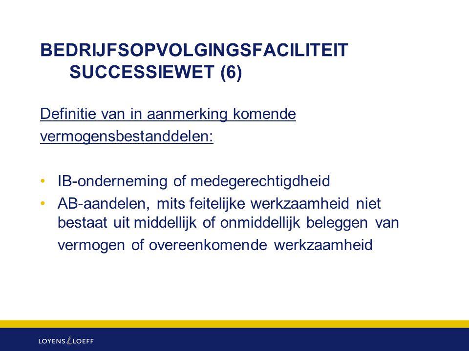 BEDRIJFSOPVOLGINGSFACILITEIT SUCCESSIEWET (6)