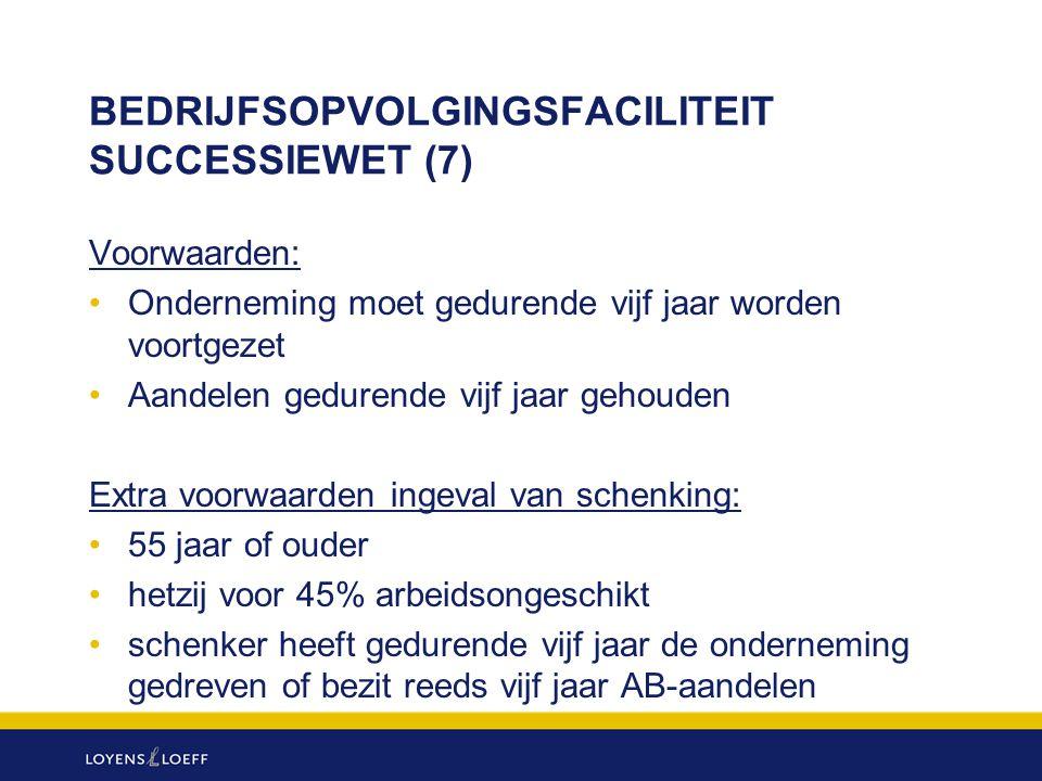 BEDRIJFSOPVOLGINGSFACILITEIT SUCCESSIEWET (7)