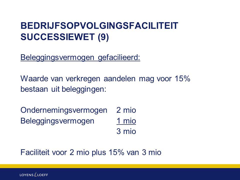 BEDRIJFSOPVOLGINGSFACILITEIT SUCCESSIEWET (9)