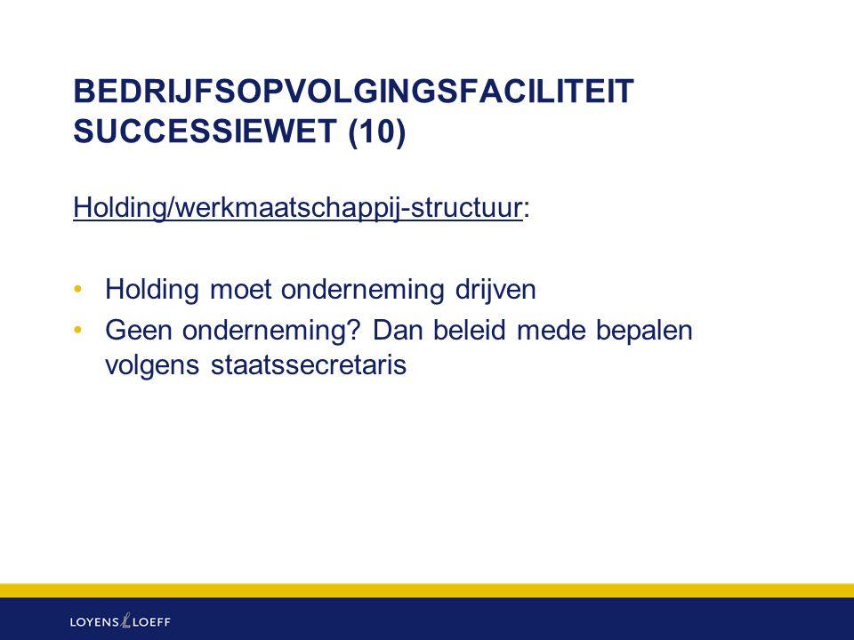 BEDRIJFSOPVOLGINGSFACILITEIT SUCCESSIEWET (10)