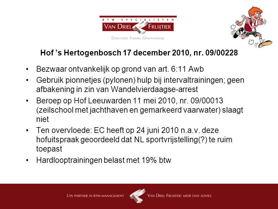 Hof 's Hertogenbosch 17 december 2010, nr. 09/00228