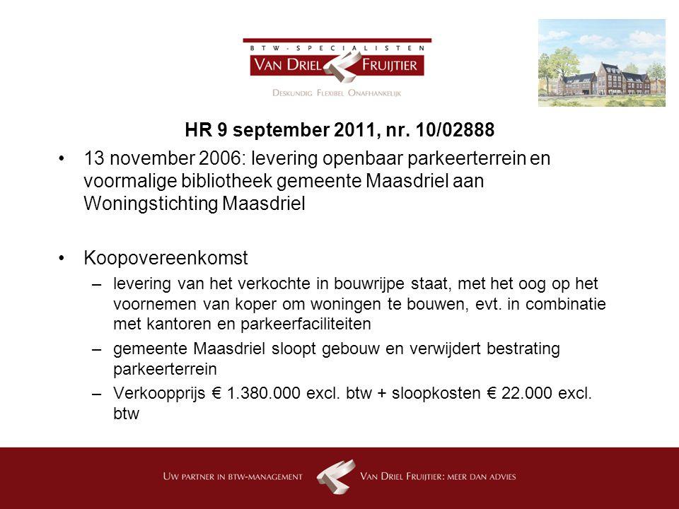 HR 9 september 2011, nr. 10/02888