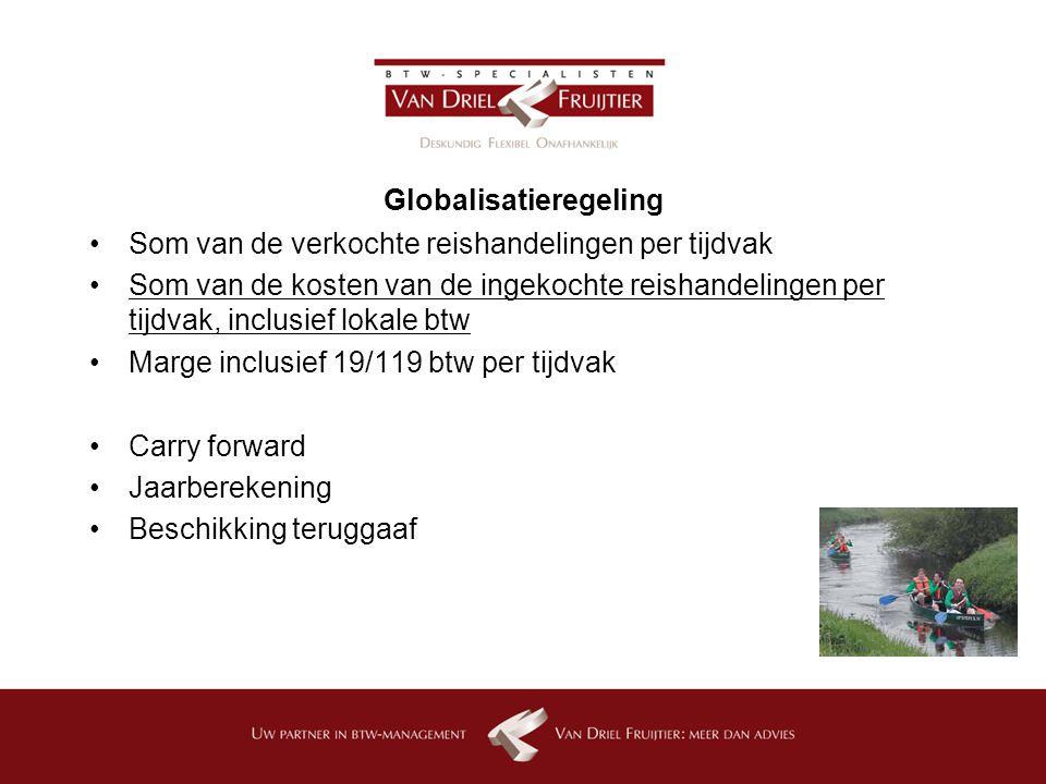 Globalisatieregeling