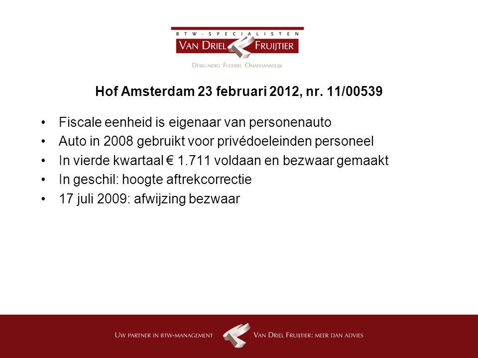 Hof Amsterdam 23 februari 2012, nr. 11/00539