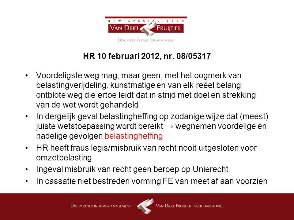 HR 10 februari 2012, nr. 08/05317