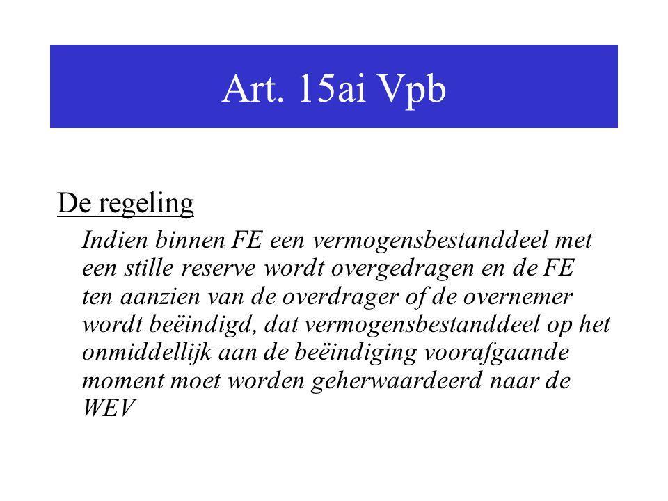 Art. 15ai Vpb De regeling.