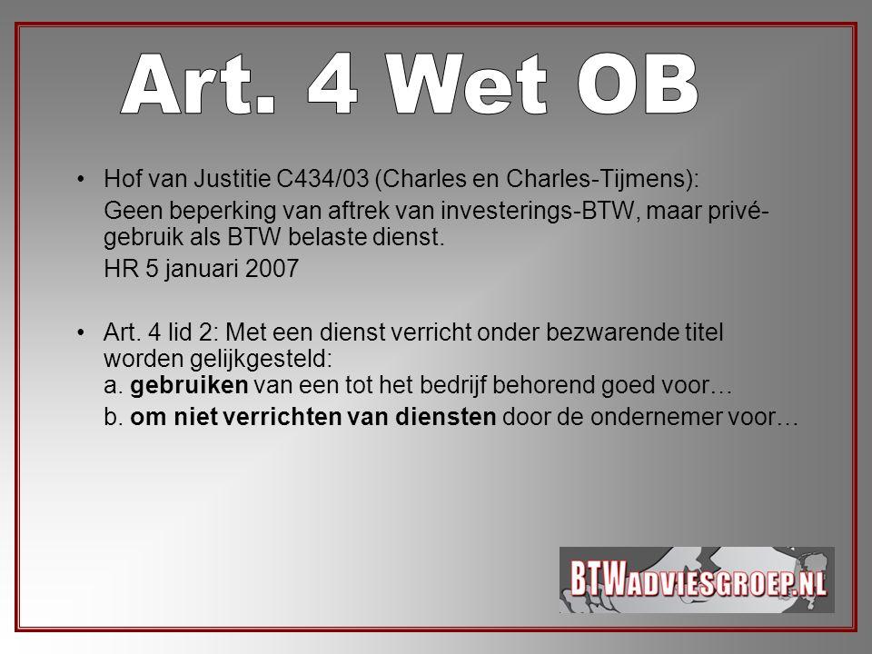 Art. 4 Wet OB Hof van Justitie C434/03 (Charles en Charles-Tijmens):