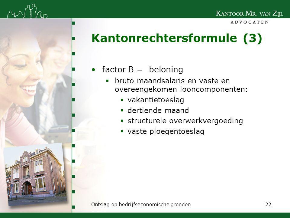 Kantonrechtersformule (3)